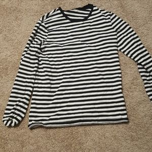 striped h and m tee